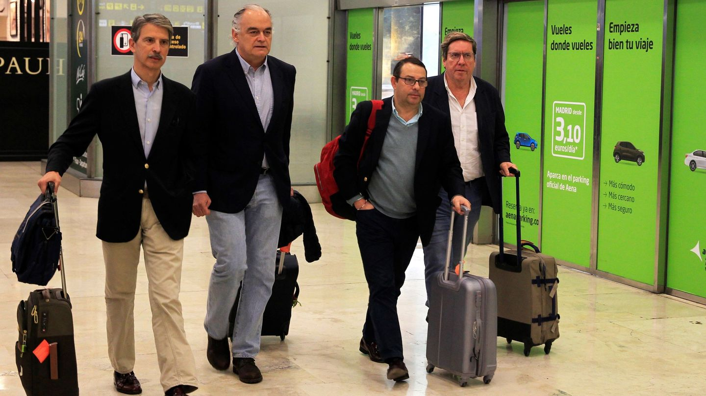 Eurodiputados españoles expulsados de Venezuela (EFE)
