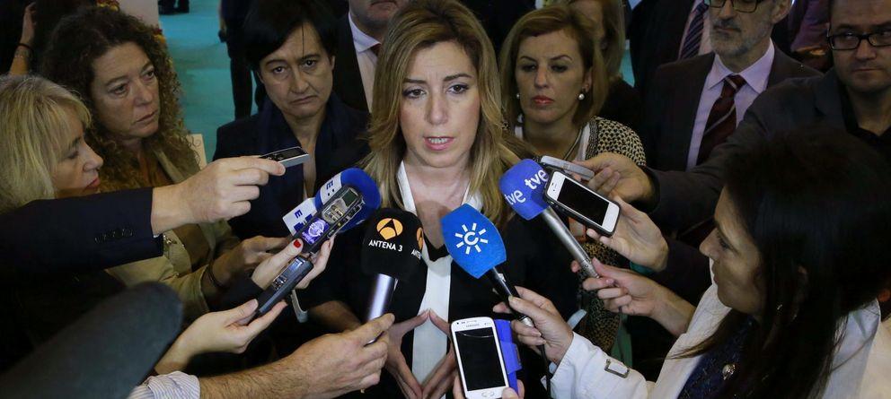 Foto: La presidenta de la Junta de Andalucía, Susana Díaz (Efe)