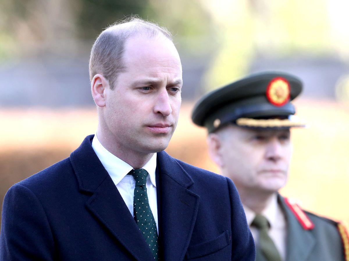 Foto: El príncipe Guillermo, en Irlanda. (Reuters)