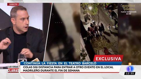Un tertuliano de Cintora señala a Abascal por la polémica fiesta en el Teatro Barceló