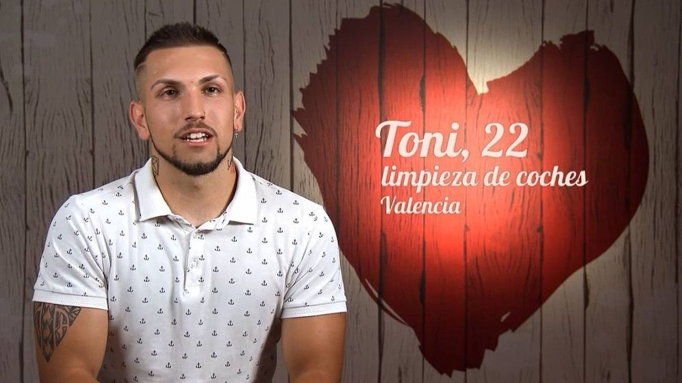 Foto: Toni, comensal de 'First Dates'. (Cuatro)