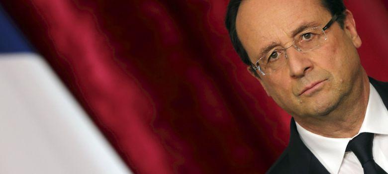 Foto: Françoise Hollande, presidente de Francia