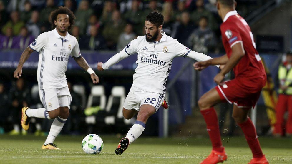 Sin Modric, Zidane rescata a tiempo a Isco para evitar que haga las maletas