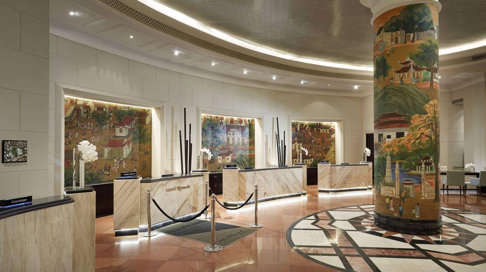 Foto: Recepción del Meliá Hanoi. (Meliá Hotels Internactional)