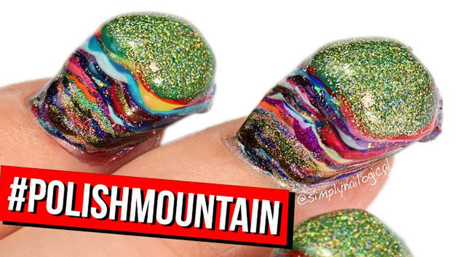 YouTube: ¿Qué pasa si te pones 116 capas de esmalte en las uñas?