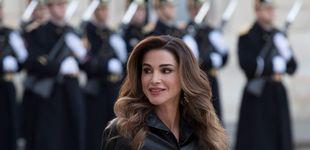 Post de El sospechoso rostro de Rania de Jordania eclipsa sus imágenes más emotivas