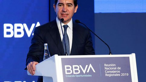 BBVA lleva la plantilla a mínimos desde su creación con el doble de activos