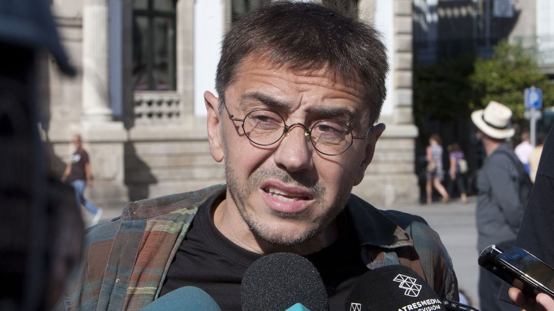 El cofundador de Podemos, Juan Carlos Monedero. (EFE)
