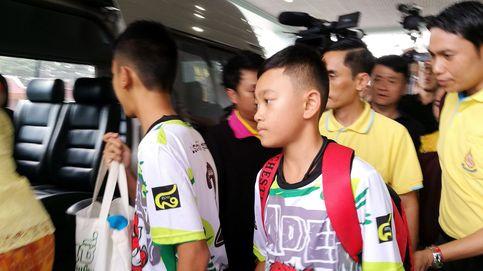 Los niños de la cueva de Tailandia