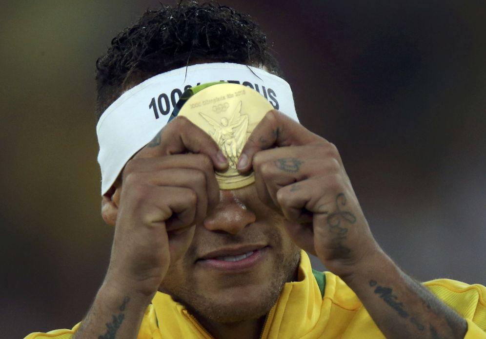 Foto: Neymar llevó a Brasil al oro olímpico (Ueslei Marcelino/Reuters).
