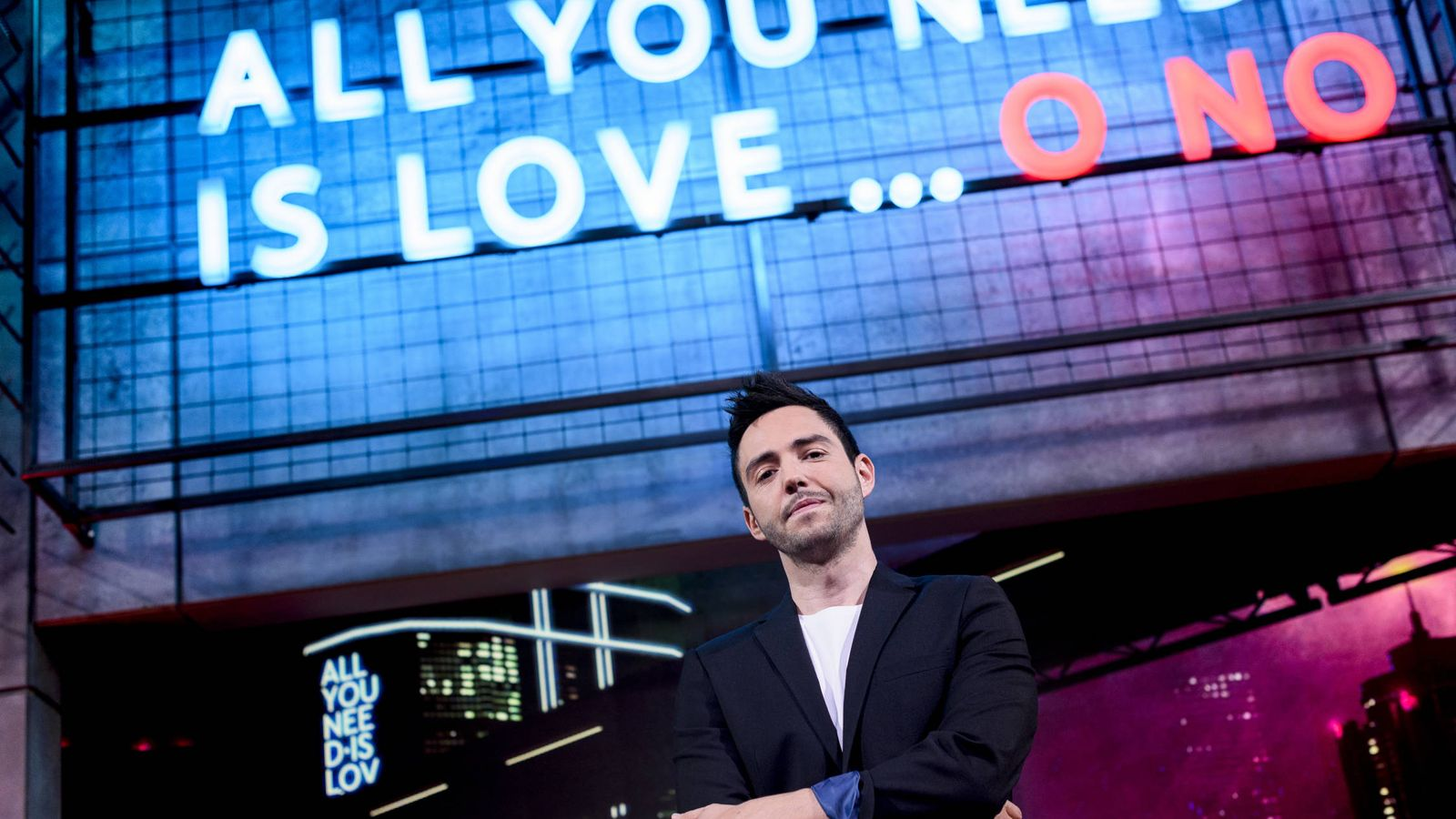 Foto: David Guapo en 'All you need is love... o no'. (Mediaset España)
