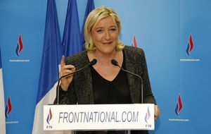 El Frente Nacional de Le Pen logra un avance histórico en las municipales francesas