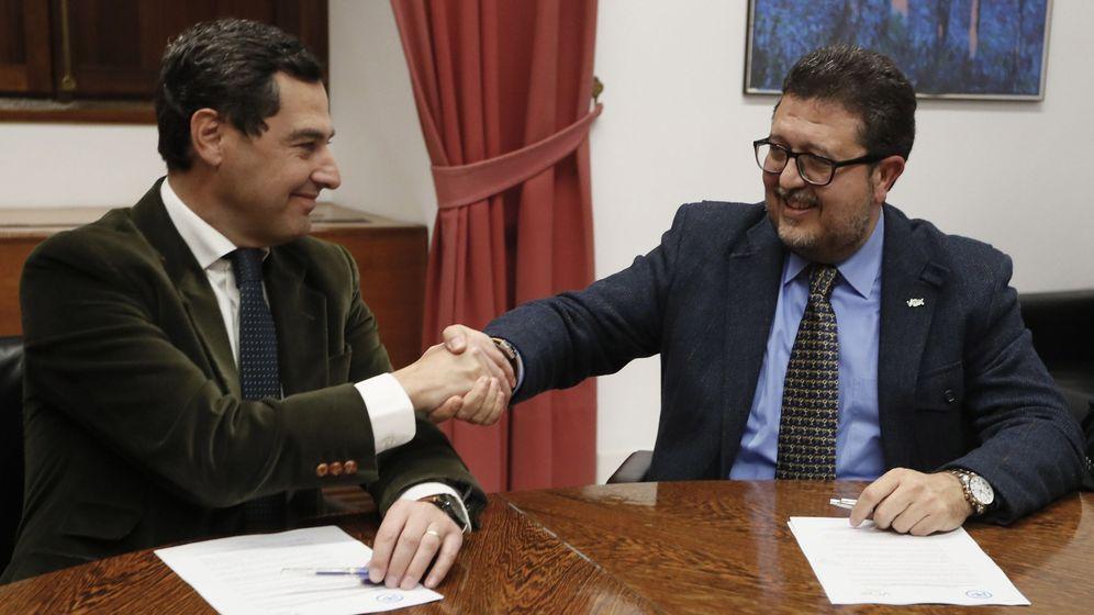 Foto: PP y Vox cierran el pacto de investidura en Andalucía. (EFE)