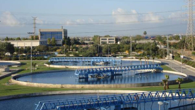 Estación depuradora de Aguas de Valencia.