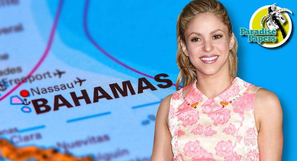Foto: Shakira en un fotomontaje realizado por Vanitatis.
