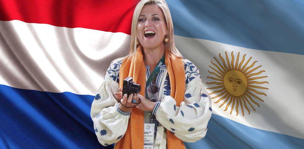 Foto:  Máxima de Holanda en un fotomontaje realizado por 'Vanitatis'