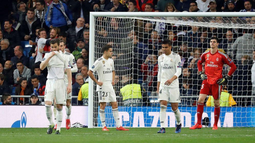 Foto: El Ajax aplastó al Real Madrid para eliminarlo de la Champions. (EFE)