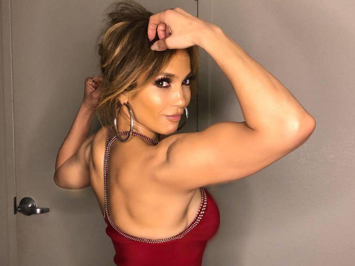 Foto: Jennifer Lopez, en una imagen de sus redes sociales. (Instagram @jlo)