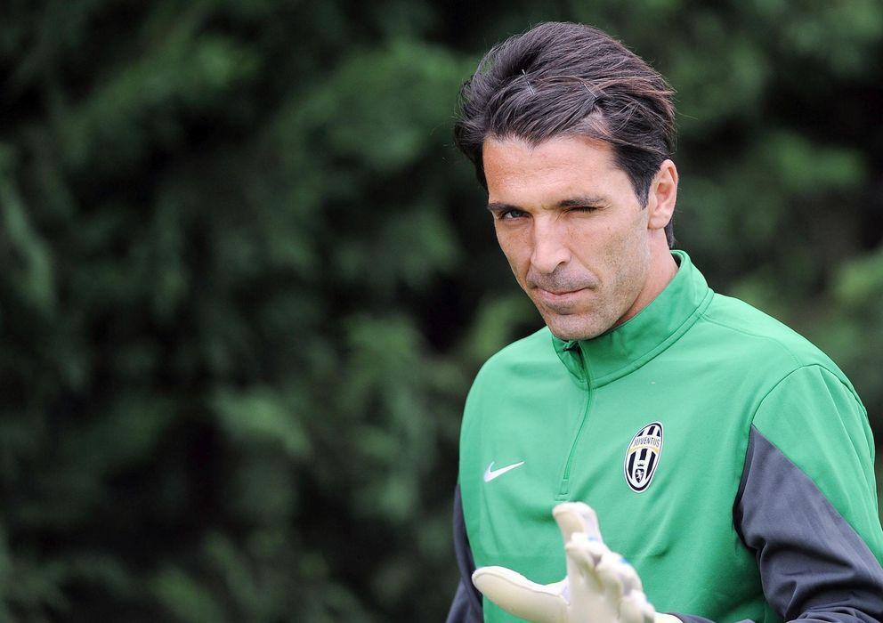 Foto: Buffon en un entrenamiento (Efe).