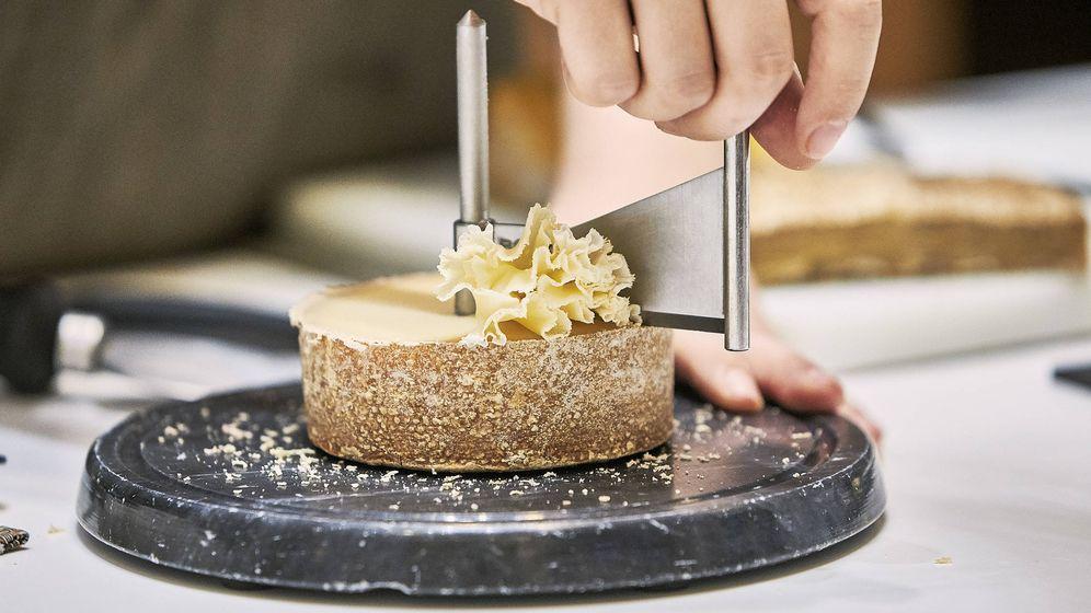 Foto: Uno de los quesos de Poncelet