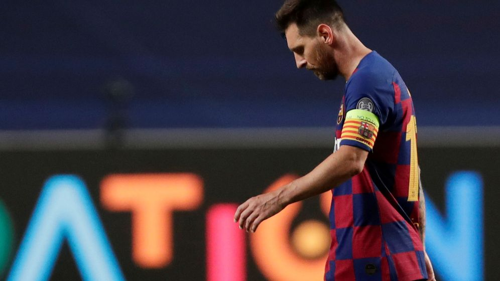 Foto: Leo Messi, durante su partido frente al Bayern de Múnich. (Reuters)