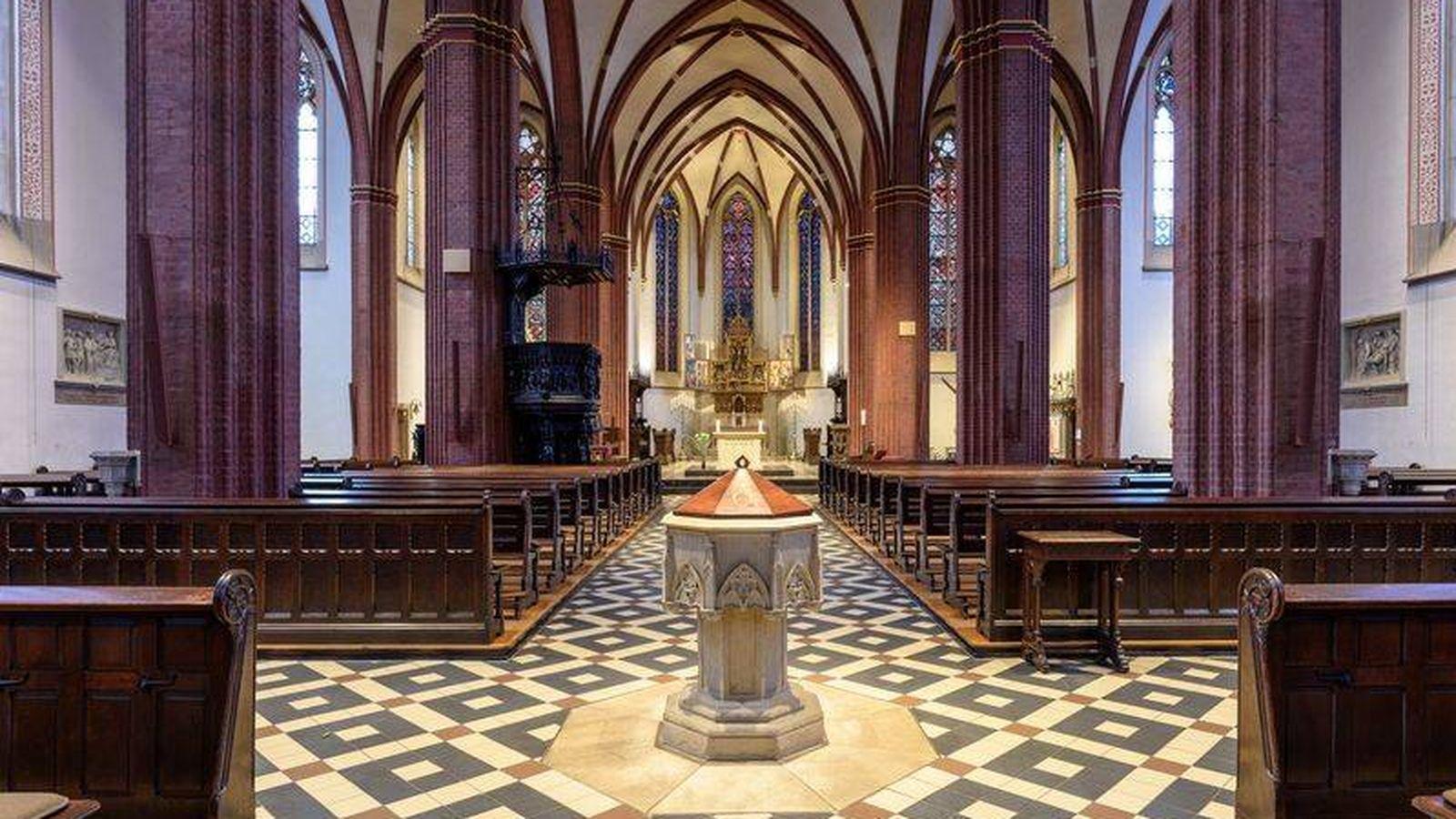 Foto: La parroquia alemana de San Sixto (St-Sixtus)