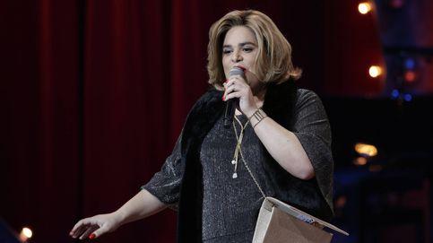 Paquita Salas se mofa de Carlota Corredera en la gala de los Goya