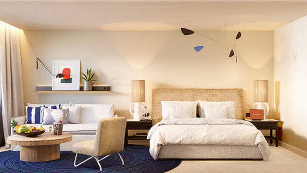 Foto: Room Mate Olivia es el primer hotel de playa de la cadena.