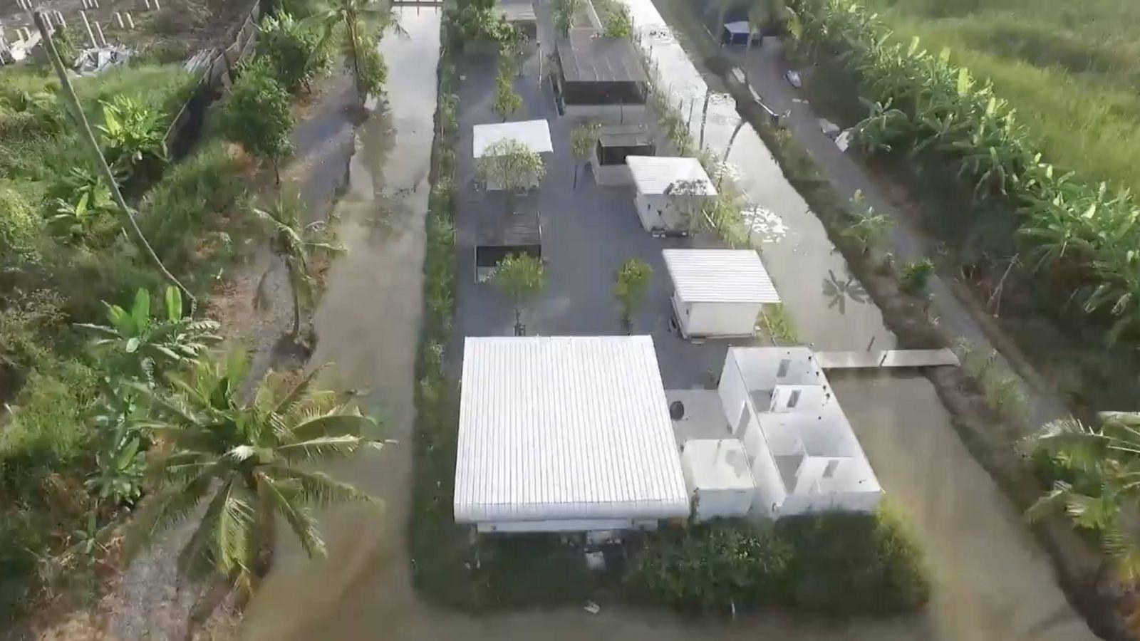 Foto: Vista aérea del Centro de Recuperación de Animales de Frank Cuesta.