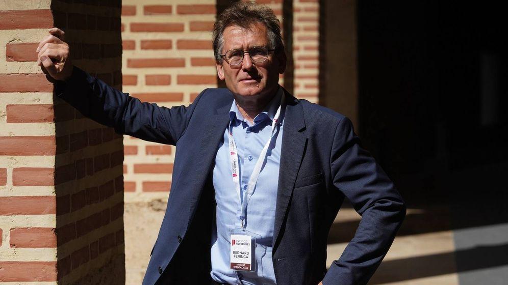 Foto: Ben Feringa, durante su visita a Valencia (Vicent Bosch / FRJI)