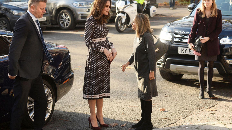 La duquesa a su llegada al acto. (Reuters)