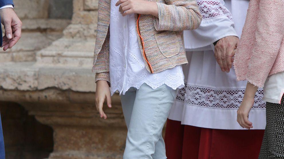 La infanta Sofía cumple 9 años convertida en digna heredera de Doña Letizia
