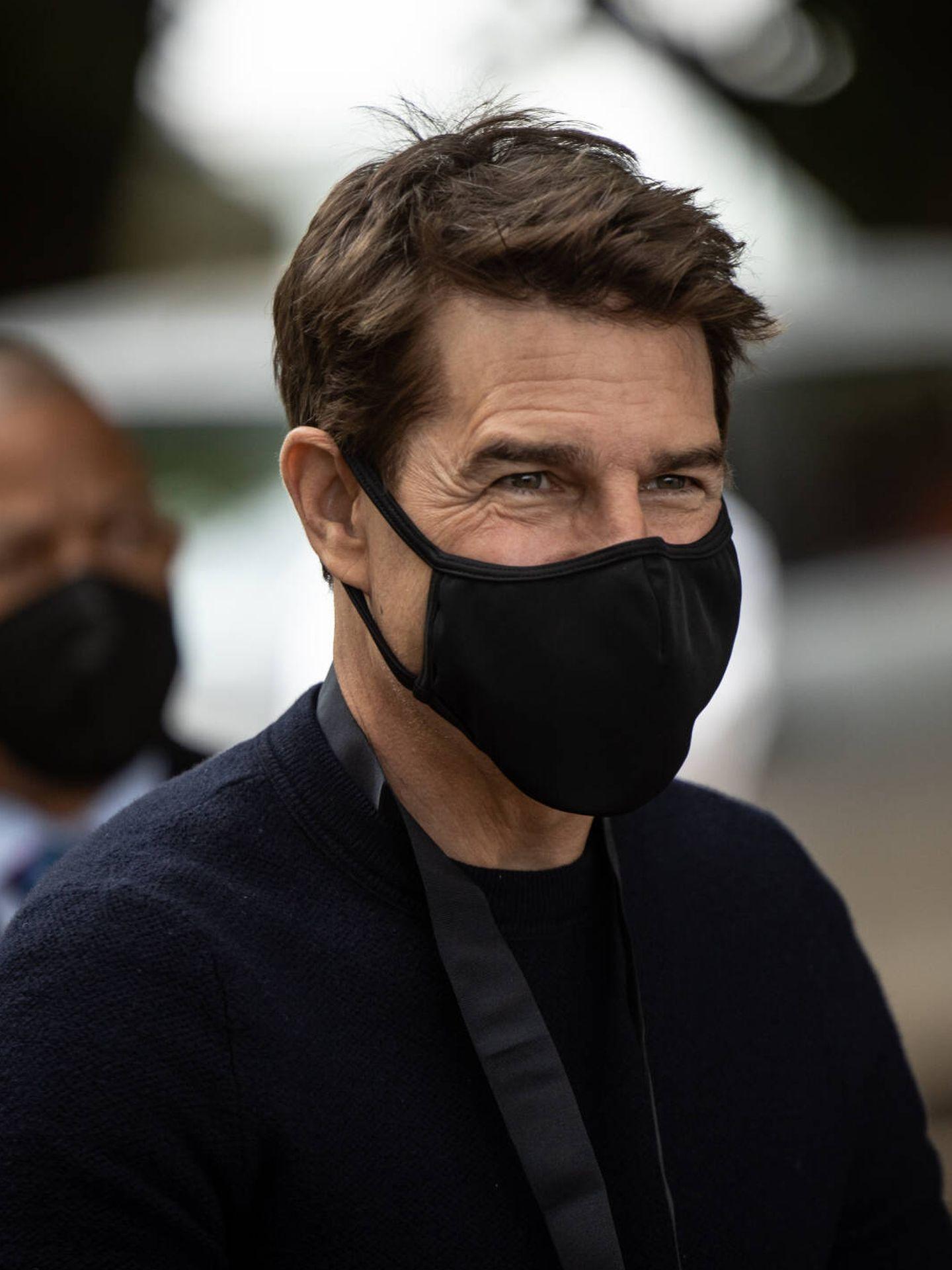Tom Cruise, este mismo verano en el Goodwood Festival of Speed. (Getty)