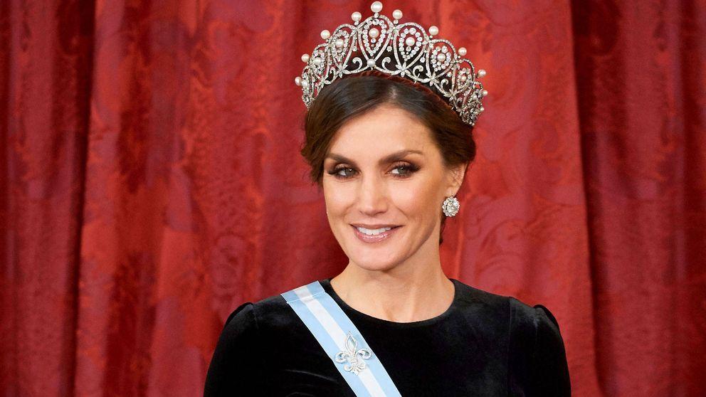 Algo pasa con la tiara Rusa de la reina Letizia