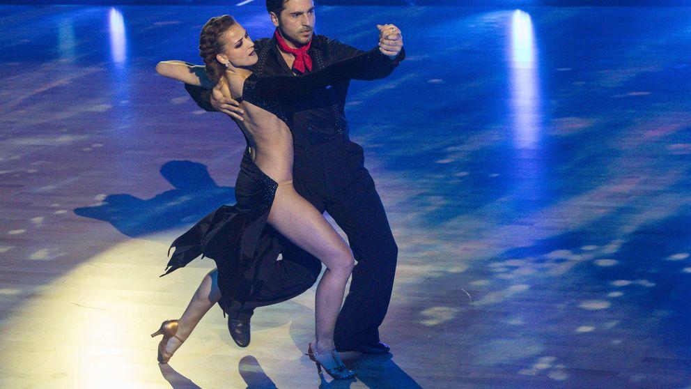 Pasión y complicidad entre Bustamante y su pareja en 'Bailando con las estrellas'