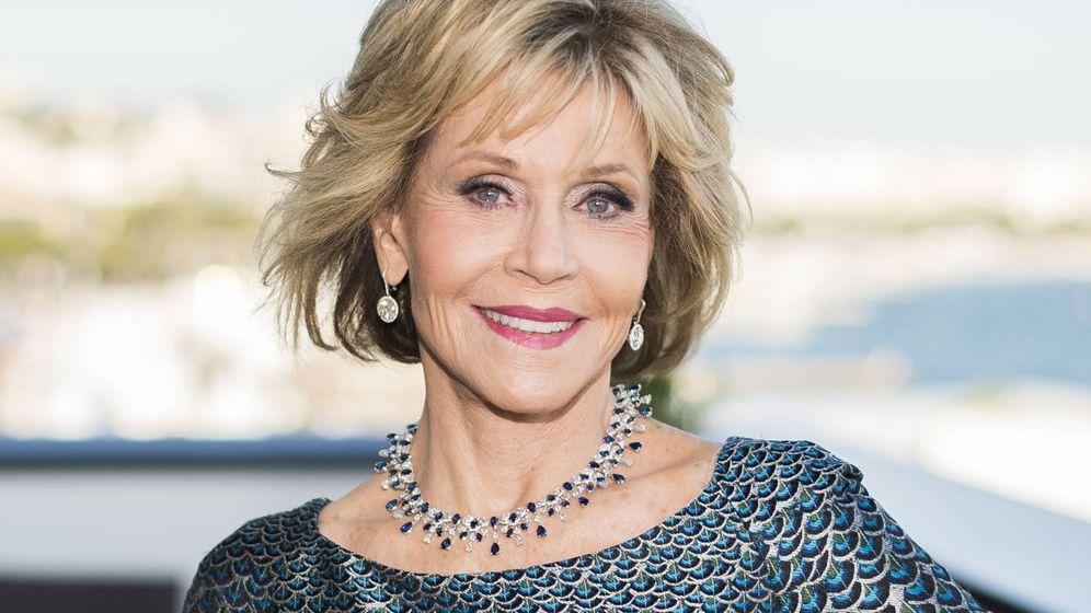 Foto:  Jane Fonda, en el festival de Cannes. (Gtres)