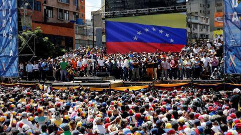 La juventud se lanza esperanzada a las calles de Caracas