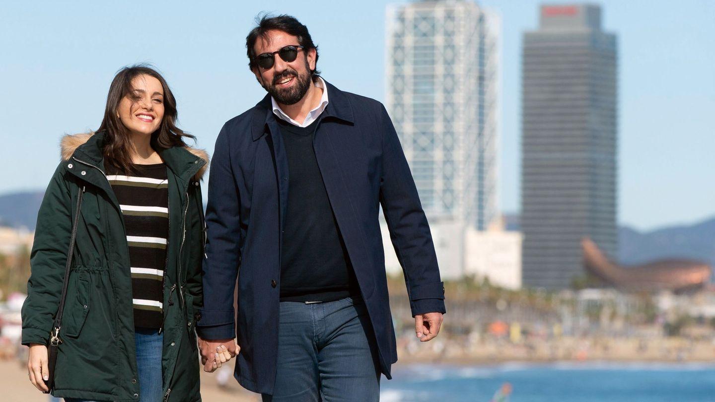 Inés Arrimadas, y su pareja, Xavier Cima. (EFE)