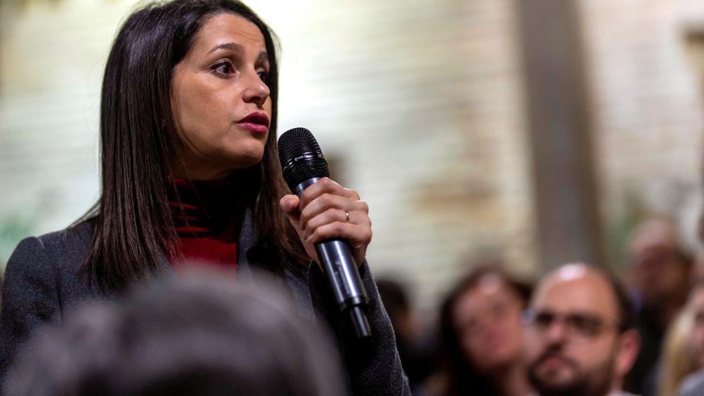 Foto: Inés Arrimadas en un encuentro en Toledo. (EFE)