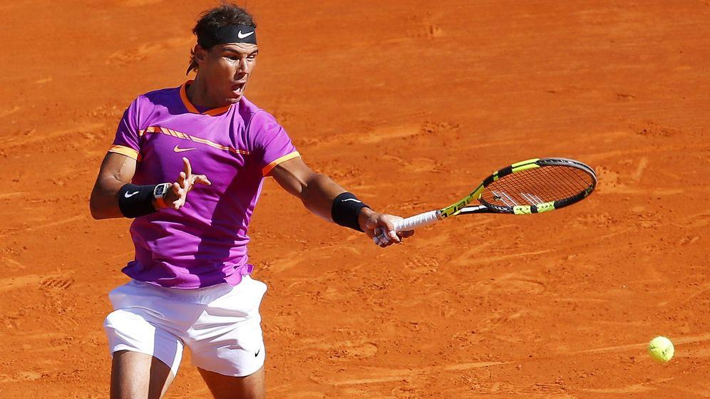 Foto: Rafa Nadal, en su partido contra Zverev. (EFE)