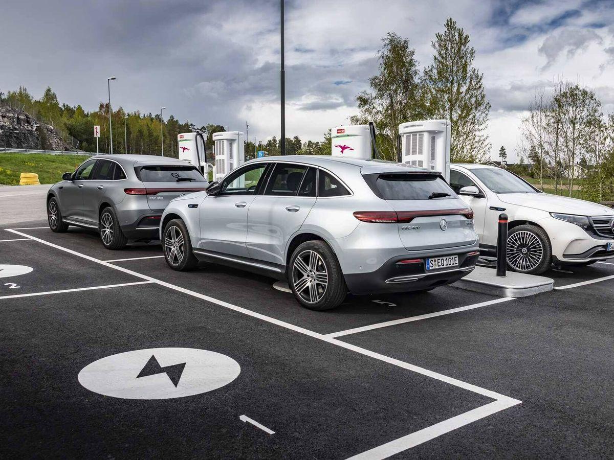 Foto: Noruega es el paraíso del coche eléctrico por su red de recarga, el precio de la electricidad y la rebaja de impuestos.