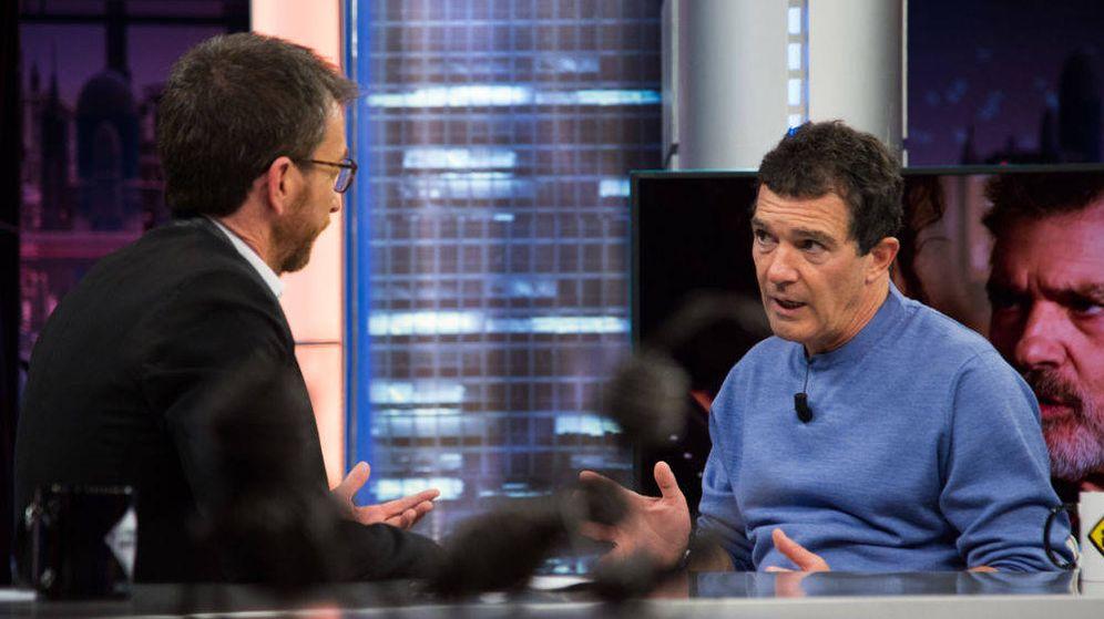 Foto: Antonio Banderas en 'El Hormiguero'. (Antena 3)
