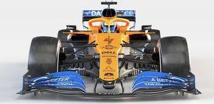 Post de La broma con el nuevo McLaren de Carlos Sainz para la temporada 2020 de F1