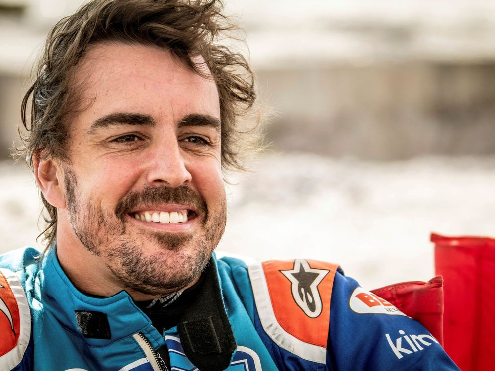 Foto: Fernando Alonso estará en el Dakar 2020 en Arabia Saudí junto a Toyota. (EFE)