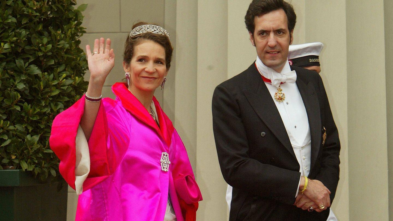 La infanta Elena y Jaime de Marichalar. (Getty)