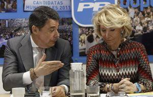 Aguirre protege a Ignacio González de las críticas de corrupción
