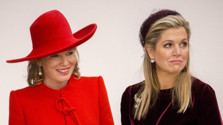 Máxima de Holanda y Matilde de Bélgica en una imagen de archivo. (Gtres)