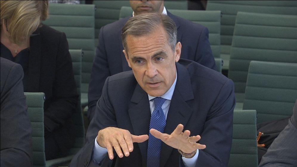 Foto: El gobernador del Banco de Inglaterra, Marck Carney. (Reuters)