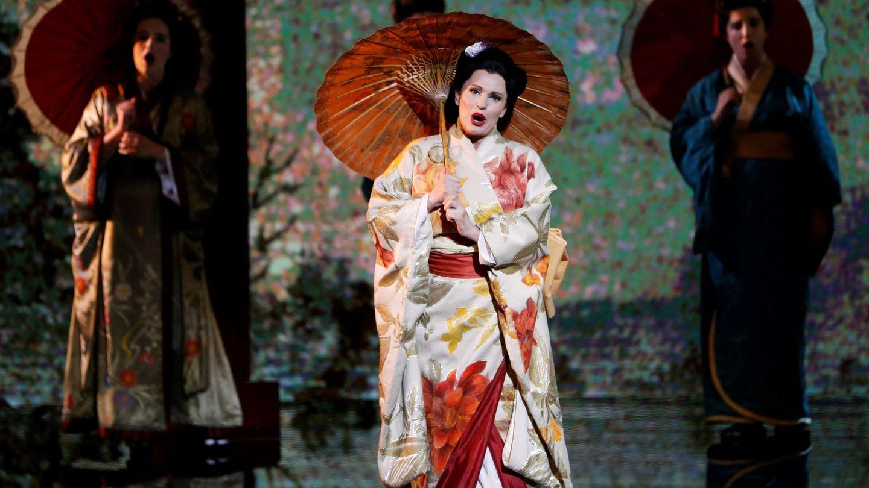 Ainhoa Arteta, caracterizada para la opera 'Madame Butterfly'. (EFE)