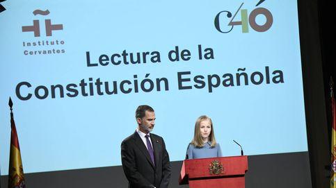 El primer discurso público de la princesa Leonor, en imágenes